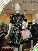 マグノリアが素敵kate spade☆ SWAMPED BOTANICAL POPLIN DRESS