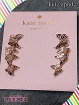 Kate spade☆social butterfly ear pins☆バタフライピアス