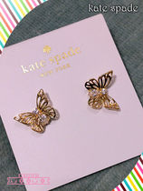 Kate spade☆social butterfly studs☆バタフライピアス