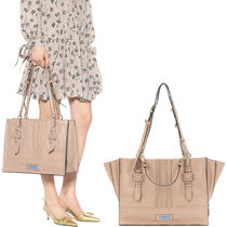 PR1029 ETIQUETTE TOTE BAG WITH BUCKLE DETAIL