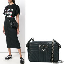 PR1030 PRADA DIAGRAMME SHOULDER BAG SMALL