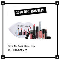限定☆ヌード系☆SEPHORA FAVORITES☆Give Me Some Nude Lip