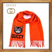 ★★★GUCCI《グッチ》 GUCCI AT SCARF  送料込み★★★