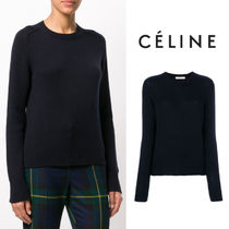 【18SS】大注目!!★CELINE★round neck jumper