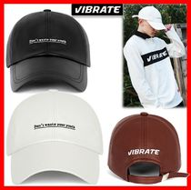 VIBRATE(バイブレート) キャップ 韓国の人気【VIBRATE】★ D.W.Y.Y LEATHER BALL CAP 3色