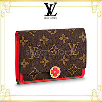 2018SS Louis Vuitton ポルトフォイユ・フロール コンパクト