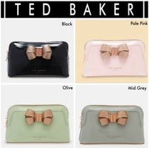 ★TED BAKER★LEZLIEボウ付きバニティポーチ♪