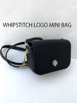 即発 TORY BURCH★WHIPSTITCH LOGO MINI BAG 40916*黒