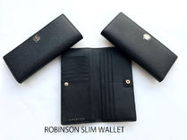 即発 TORY BURCH★ROBINSON SLIM WALLET 33044*ブラック