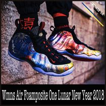 ★【NIKE】追跡発 Wmns Air Foamposite One Lunar New Year 2018