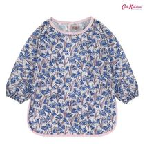 Cath Kidston★ KIDS LONG SLEEVE APRON BLUEBELLS CREAM BLUE