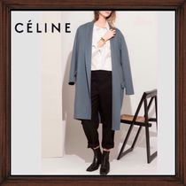 ★CELINE《セリーヌ》ORAGE EGG SHAPE CASHIMERE COAT  送料込★