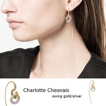 Charlotte Chesnais◆swing gold-plated/silver シングルピアス