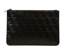 【関税負担】 FENDI LOGO CLUTCH