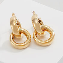 Maria Black☆DOUBLE TUBE HOOP EARRING / gold