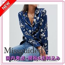 Missguided◆花柄プリントパジャマシャツ