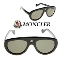関税送料込☆MONCLER☆サングラス ML0001 Black/Green polarise