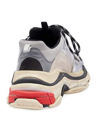 "BALENCIAGA スニーカー 【BALENCIAGA】入手困難 ☆ Triple S Trainer ""Silver Red""(3)"