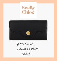See by Chloe #POLINA#ロングウォレット【Black】