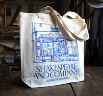 SHAKESPEARE AND COMPANY☆コットン トートバッグ