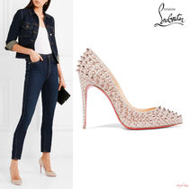 Christian Louboutin Pigalle Follies 100 ラメ パンプス