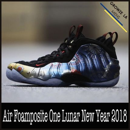 new arrival 0524b 07a39 ★【NIKE】追跡発送 Air Foamposite One Lunar New Year 2018