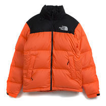 Mサイズ Supreme The North Face Nuptse Jacket Power Orange