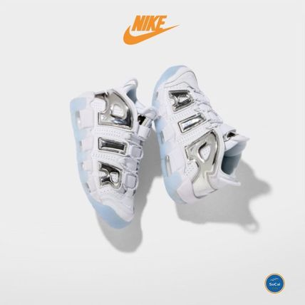 〓USA限定!〓 NIKE モアテン AIR MORE UPTEMPO《Chrome White》