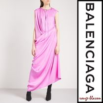 【国内発送】Balenciaga ガウン Multi-style silk-twill gown