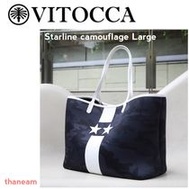 VITOCCA(ヴィトッカ)StarlineCamouflageLarge迷彩トートバッグ