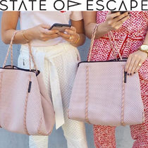 【State of Escape】軽量 ネオプレン トートバッグ ブラッシュ