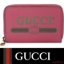 【国内発送】GUCCI 小銭入れ Logo small grained leather purse