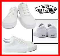 韓国の人気 【VANS】★ OLD SKOOL☆UNISEX★ 22~30☆TRUE WHITE