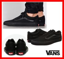 韓国の人気 【VANS】★ OLD SKOOL☆UNISEX★ ☆BLACK★