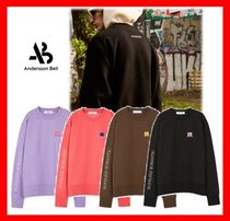 ANDERSSON BELL(アンダースンベル) スウェット・トレーナー 人気【Andersson Bell】UNISEX ARCHIVE PATCH SWEATSHIRT★4色☆