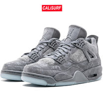 Nike(ナイキ)Air Jordan 4 Retro Kaws /8.5size COOL GREY/WHITE