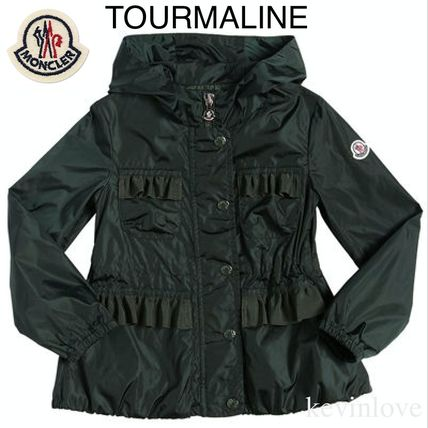 MONCLER キッズアウター 春新作 大人もOK!ポケット口のフリルが新鮮なTOURMALINE 12A/14A