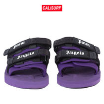 Palm Angels(パームエンジェルス)PURPLE SUICOKE SLIDERS/size4