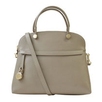 FURLA ハンドバッグ 2WAY 851235 BFK9 ARE PIPER M DOME SABBIAb