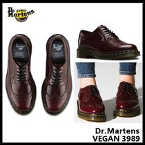 【Dr.Martens】VEGAN 3989 CHERRY RED CAMBRIDGE BRUSH 16153601