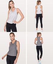 Lululemon♡重ね着に!クロップ丈タンク♪Pace Perfect Tank