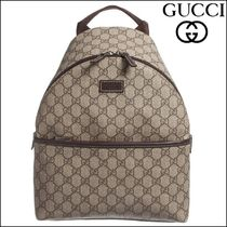 【GUCCI(グッチ)】Beige 'GG' Backpack