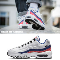 NIKE★AIR MAX 95 ESSENTIAL★白×黒×SOLAR RED×ULTRAMARINE