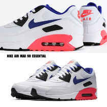 NIKE★AIR MAX 90 ESSENTIAL★白×ULTRAMARINE×SOLAR RED×黒
