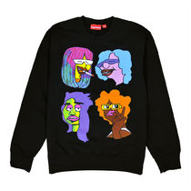 [国内即発] SUPREME GONZ HEADS CREWNECK  Black 即納