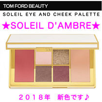 TOM FORD★ソレイユ アイ&チークパレット 2018★Soleil D'Ambre