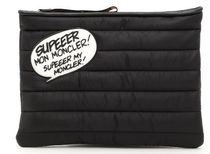 MONCLER Nylon Clutch With Patch
