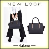 New Look☆メタリックトリムトートバッグ