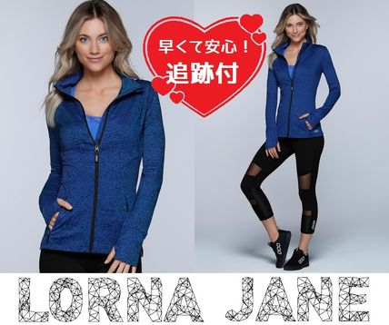 Lorna Jane フィットネストップス ★追跡有【Lorna Jane】Endurance Active Zip Thru★