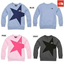 【新作】THE NORTH FACE ★キッズ K'S BIG STAR SWEAT SHIRTS